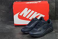 Мужские кроссовки Nike Air Max Modern темно-синие- Пресскожа,сетка,подошва пена размеры:41-45 Вьетнам  , фото 1