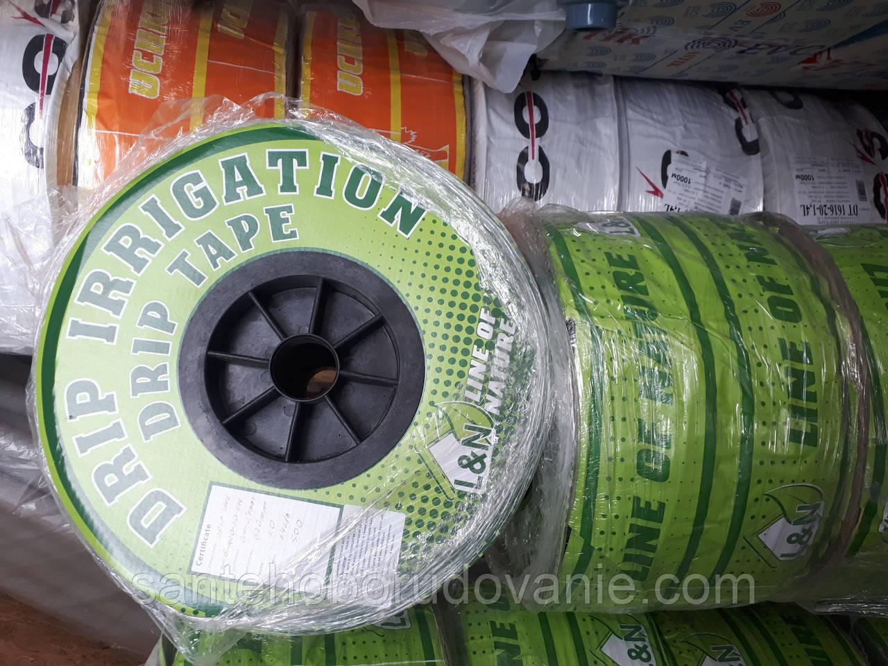 Стрічка для крапельного поливу Drip Irrigation Эмиттерная 300мм (1000м)