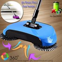 Механическая щётка веник швабра для уборки пола Sweep drag all in one Rotat