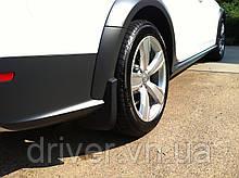 Бризковики Audi A4 Allroad 2009-, оригінальні задні \ 2 шт