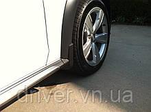 Бризковики Audi A4 Allroad 2009-, оригінальні передні \ 2 шт