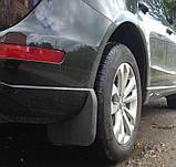Бризковики Audi Q5 2008- коротк, оригінальні задні \ 2 шт, фото 4