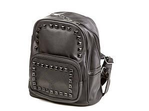 Мини-рюкзак женский городской Valentino Garavani черный