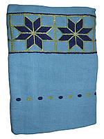 Полотенце банное, 70*140 202 Звезда Голубой