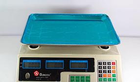 Электронные торговые весы DOMOTEC на 50 кг  ( весы для торговли )