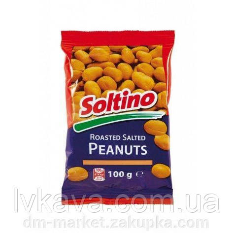 Орешки арахис соленый Saltino, 100 гр, фото 2