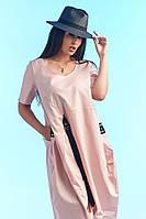 Платье большого размера / коттон / Украина, фото 1