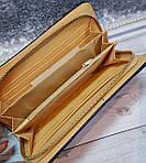 Стильный женский стеганый кошелек, темно синего цвета, фото 3