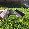 Рифленый   профилированный  поликарбонат бронза 1,06*3м, фото 3
