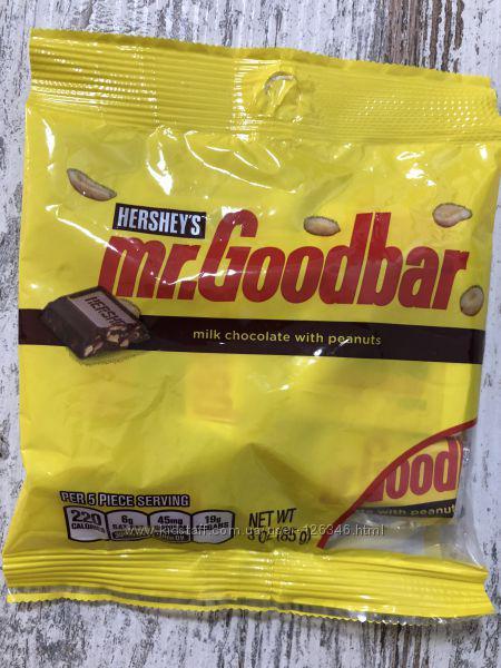 Конфеты Hershey's Mr. Goodbar молочный шоколад с арахисом