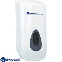 Дозатор жидкого мыла наливной 800 мл. Merida Top Серый, фото 1