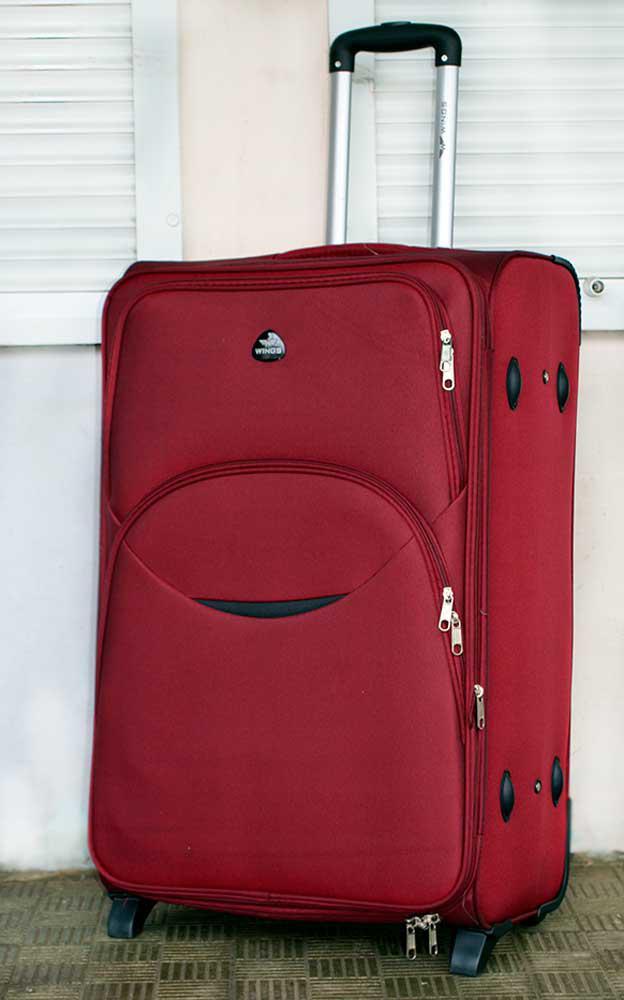 Дорожный чемодан на колёсах Wings 1706,1708 большой (Польша-КНР ... f3229ae9e37