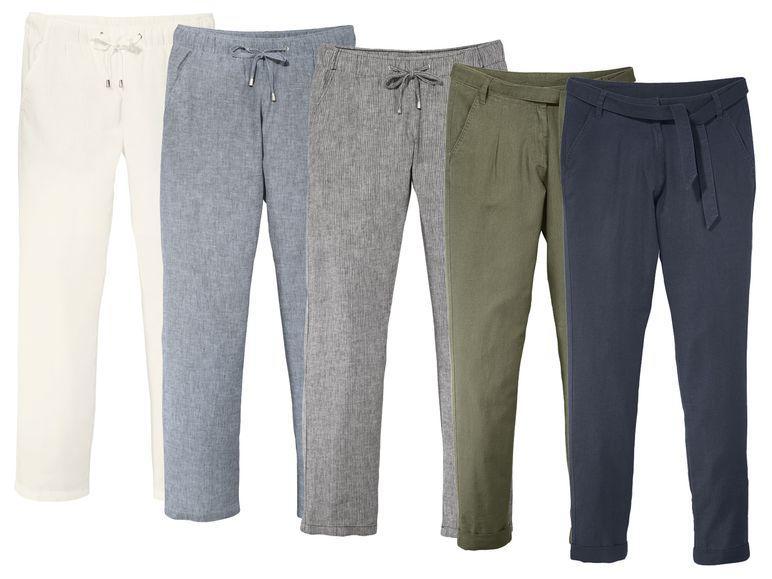 Літні штани жіночі лляні Esmara  продажа fe7e72965eef0