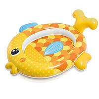 "Intex Бассейн 57111 NP ""Золотая рыбка"" (6) размером 140х124х34см, от 1 года"