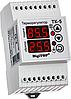Двухканальный цифровой регулятор температуры тк-5 на din-рейку для  тэновых котлов и конвекторов