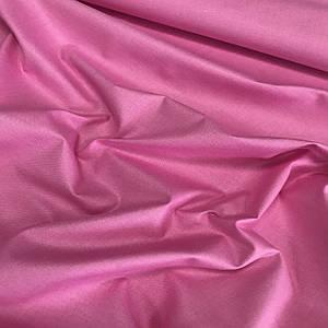 Хлопковая ткань однотонная амарант (плот. 135 г/м.кв)