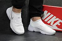 Мужские кроссовки Nike Air Max  найк белые- Текстильная сетка,подошва пена размеры:41-45 Вьетнам  , фото 1