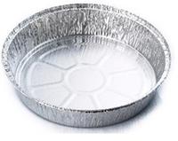 Контейнер SPT62L пищевой 1450 мл из алюминиевой фольги круглый хранение доставка еды 100 шт/уп., фото 1