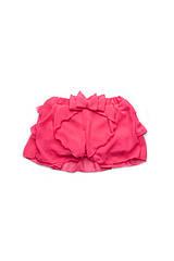 Юбка-шорты для девочек 3 - 7 лет (р. 98-122) ТМ Модный карапуз Малина