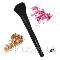 Кисть для макияжа Parisa Cosmetics для контуринга лица натуральная Р-07