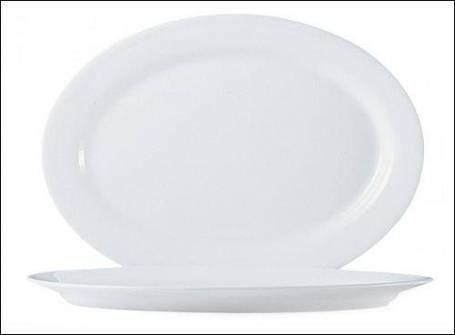 Блюдо овальное белое ARCOROC RESTAURANT 67107, фото 2