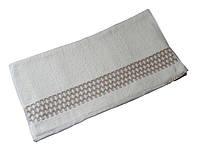 Полотенце банное, 70*140 300 Долфинс соты белый