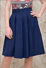 Юбка женская  233-1 -синяя ( 42,44,46)