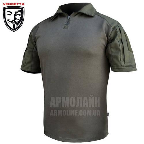 "Рубашка тактическая короткий рукав ""VENDETTA"" Olive Размер S"