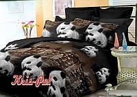 Комплект постельного белья полуторный, 150*220, полиэстер, TM KRISPOL