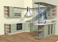 Кухни на заказ КД 102