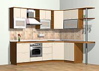 Кухни на заказ КД 104