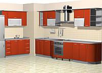 Кухня нестандартная КД 119
