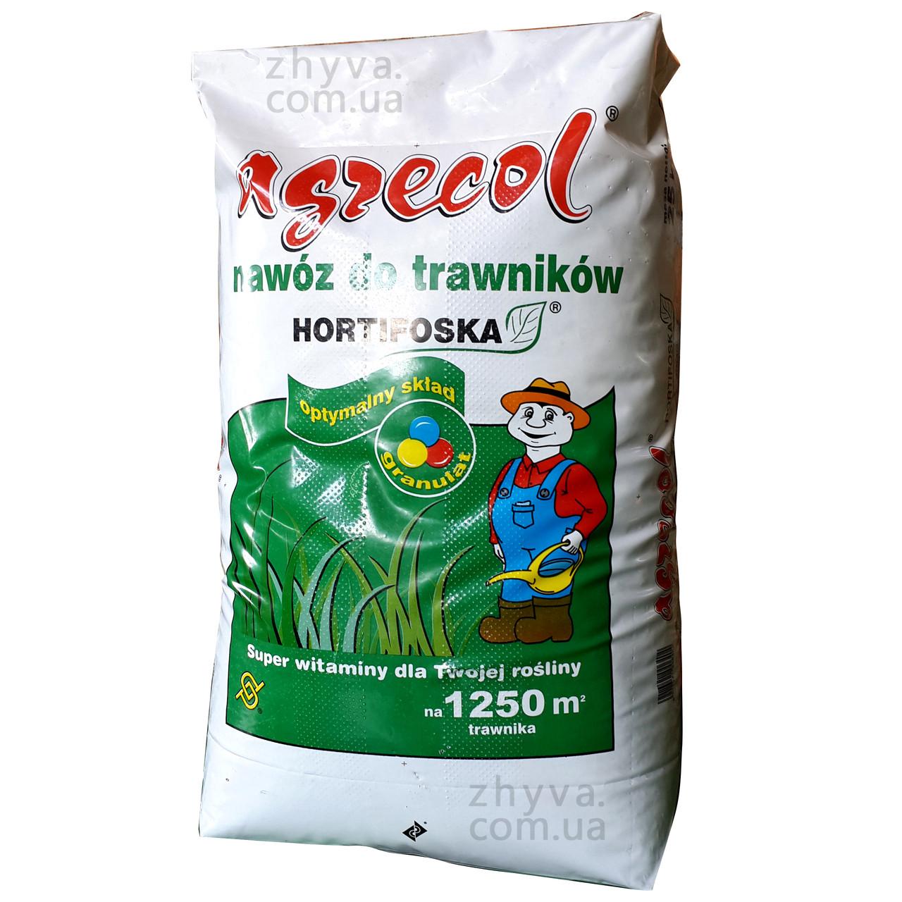 Добриво Agrecol для Газонів Hortifoska 25кг