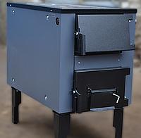 Печь твердотопливная ProTech ТТП-18 с D Luxe (Тайга), 4мм
