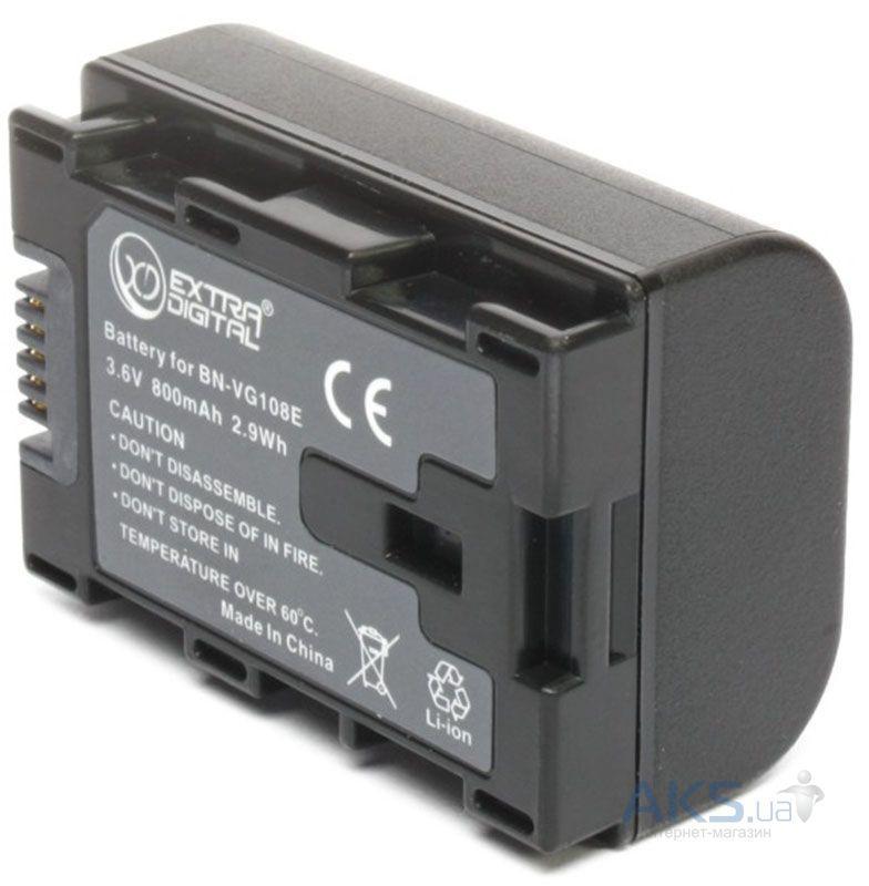Аккумулятор для фотоаппарата JVC BN-VG108E chip (800 mAh) BDJ1309 ExtraDigital - goodspares в Киеве