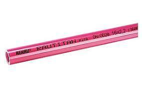 Труба  REHAU RAUTITAN pink 25 для систем отопления