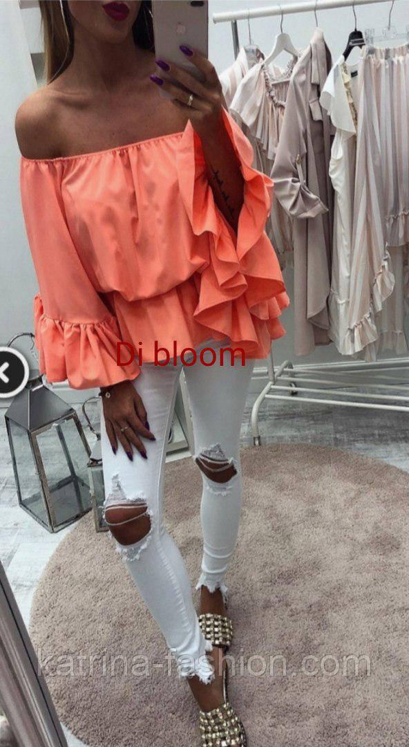 Женская красивая блуза (4 цвета)
