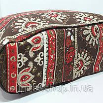 Пляжная сумка текстильная летняя Орнамент, фото 3