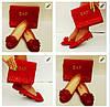 Набор обувь и сумка Emporio Armani Турция 38,39,40 чёрный, темно-синий, розовый, красный Супер цена , фото 2