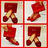 Набор обувь и сумка Emporio Armani Турция 38,39,40 чёрный, темно-синий, розовый, красный Супер цена , фото 3