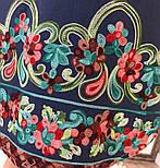 Женское стильное джинсовое платье-рубашка с вышивкой (2 цвета), фото 4