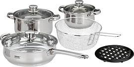 Набор посуды Calve CL-1065 (9 предметов)