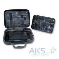Pro'sKit Кейс для инструментов 9PK-710P, кожзаменитель/пластик, Д. 330 мм, Ш. 250 мм, В. 110 мм