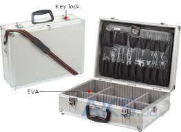 Pro'sKit Кейс для инструментов 8PK-750N, алюминий/пластик, Д. 458 мм, Ш. 330 мм, В. 150 мм