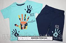 Летний комплект для мальчика футболка с шортами 3г