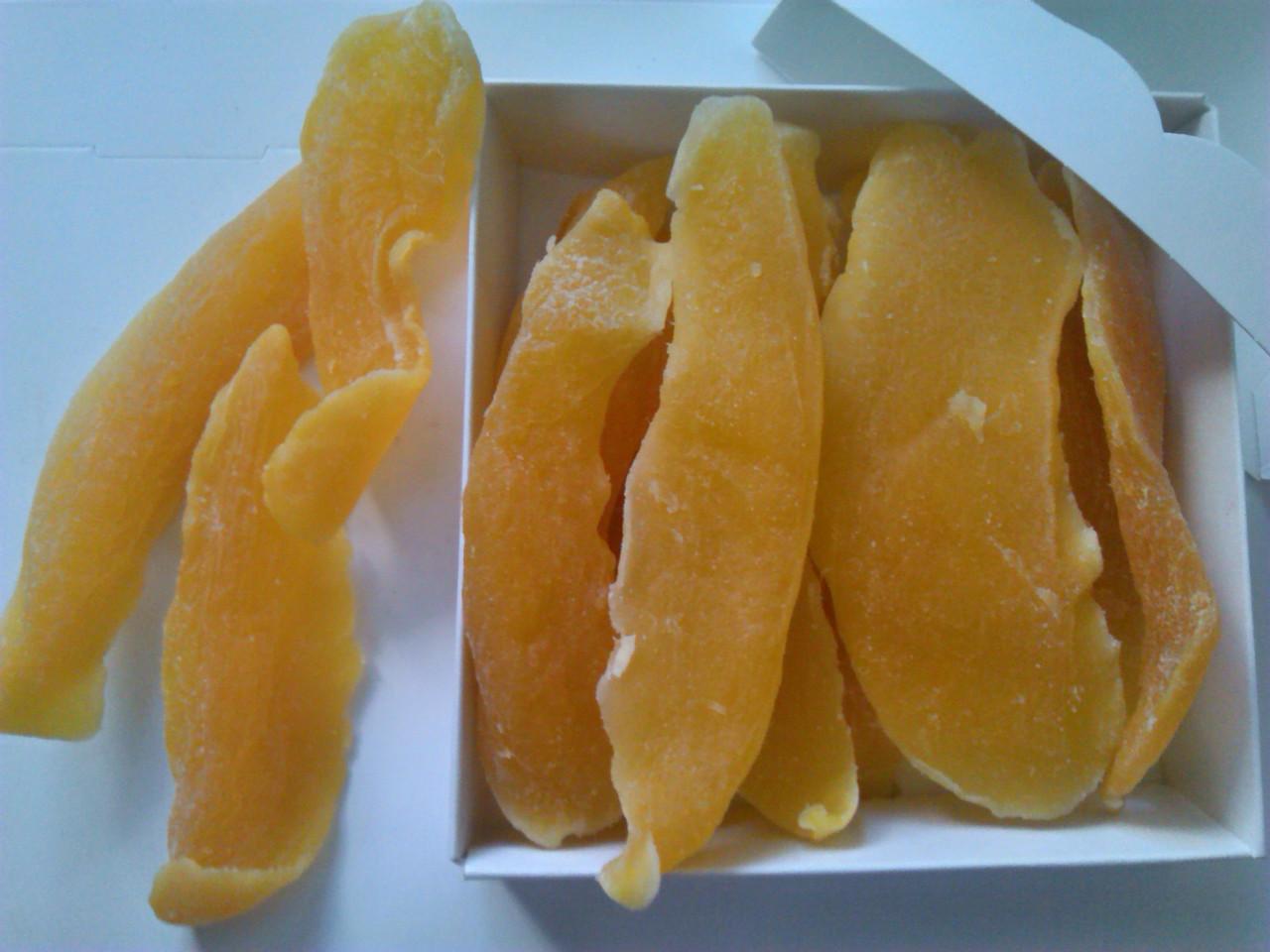Манго сушеный натуральный в сиропе / Mango