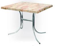 Стол для столовой Елена хром 110х70 верзалит