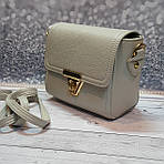 Серая женская сумка через плечо, фото 2