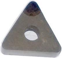 Пластины оснащенная гексанитом-Р (треугольная)