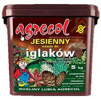 Добриво Argecol осіннє для хвойних та інших декоративних дерев та кущів 5кг